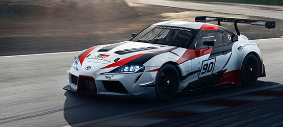 The legend returns. The Toyota GR Supra Racing Concept