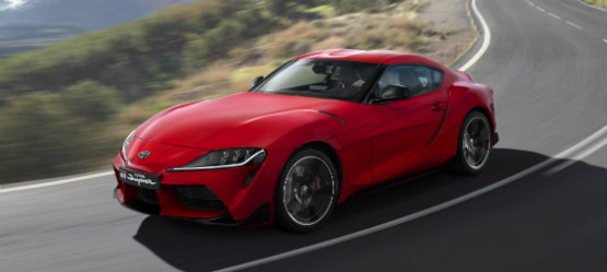 The All New Toyota GR SUPRA goes GT4 in 2020
