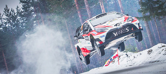 The sky's the limit. Toyota in the World Rally Championship