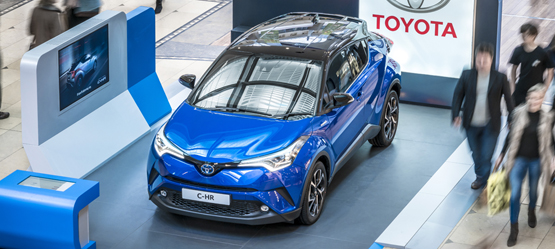 Toyota shopping centre events