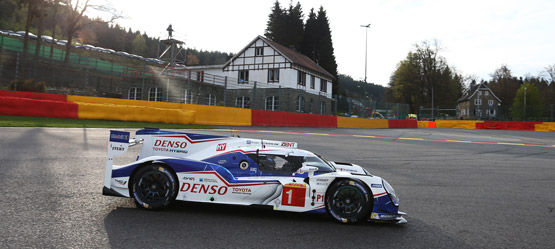 Weekend to forget for TOYOTA GAZOO  Racing at Spa