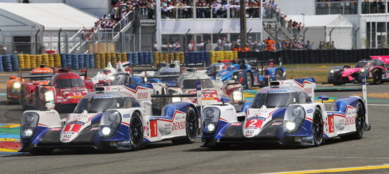 TOYOTA GAZOO Racing at Le Mans 24 Hours