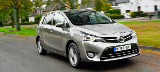 Toyota Verso with the new 1.6D-4D engine
