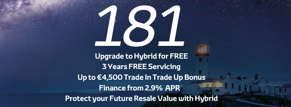 Upgrade to Hybrid for Free with PCP Finance