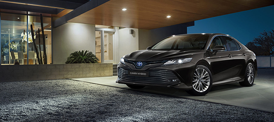 All-new 2019 Camry Hybrid from €39,750 or from €304 per month**