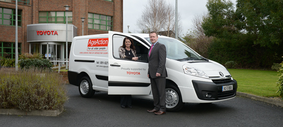 Toyota Ireland announces support for Age Action Ireland