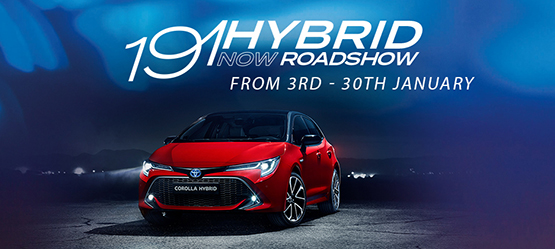 January Toyota Hybrid Roadshow Announced