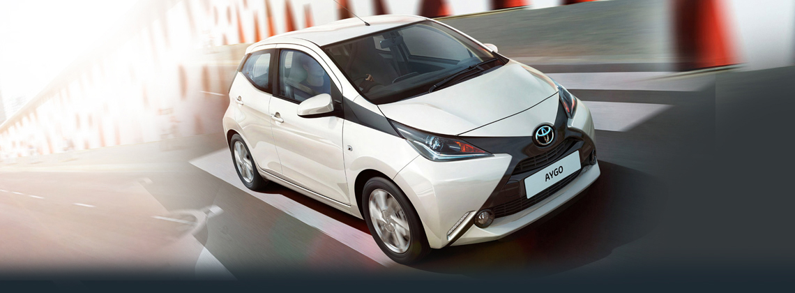 Aygo now with FREE Safety Pack worth €425