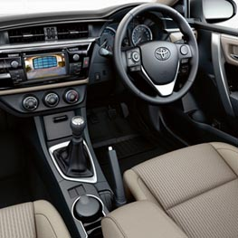 Personalise to create your perfect Corolla
