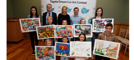 Dream Car Art Contest Winners Toyota Ireland