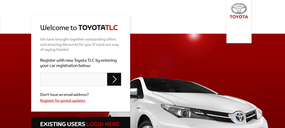 Toyota Loyalty Club