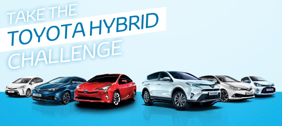 Toyota Launches Innovative 'Hybrid Challenge' Promotion