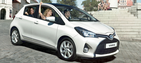 Free Accessory Pack worth up to €399 on a new Yaris