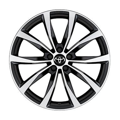 "4 X Nero VR rifiniture ruota Hub Caps 16/"" Si Adatta Toyota Prius Avensis Aygo Yaris"