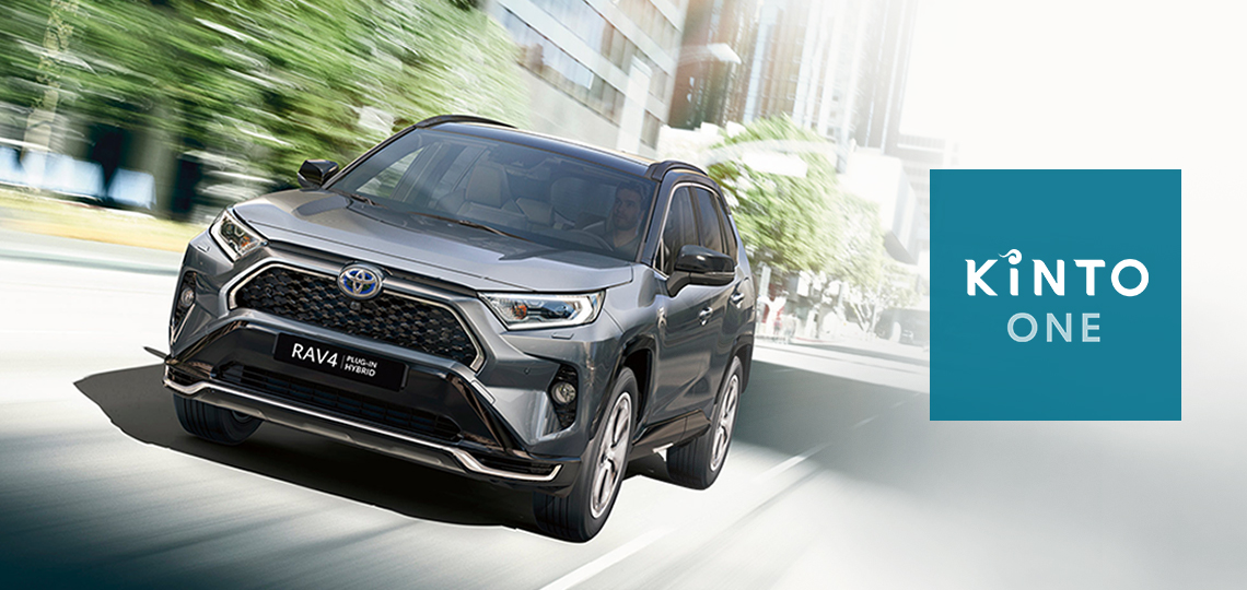 RAV4 Plug-in Hybrid by KINTO One
