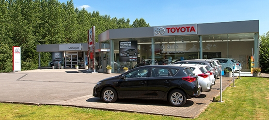 Toyota BusinessPlus Centers – Maniquet Membre du Groupe Ital