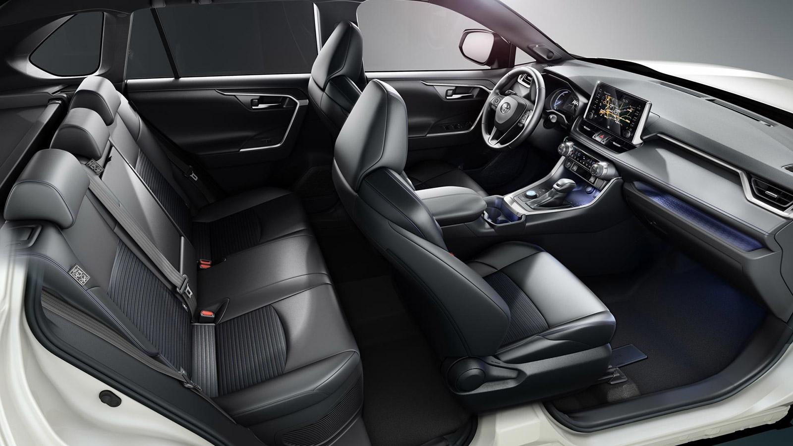 Toyota RAV4 interieuroverzicht