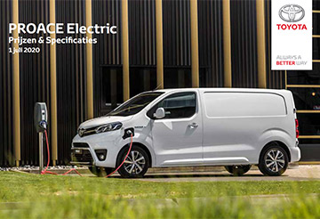 PROACE Electric - PROACE ELECTRIC Prijzen en specificaties