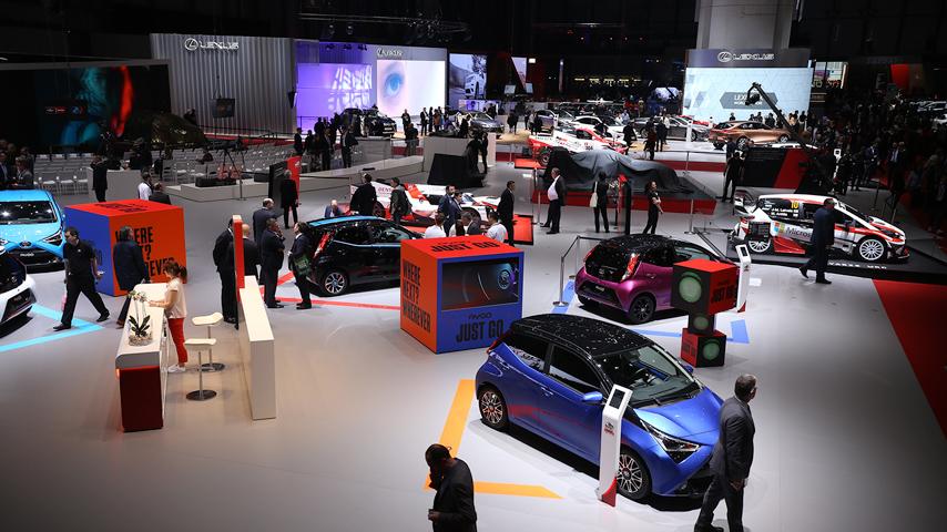 Masywnie Toyota i jej nowości podczas Salonu w Genewie JJ93