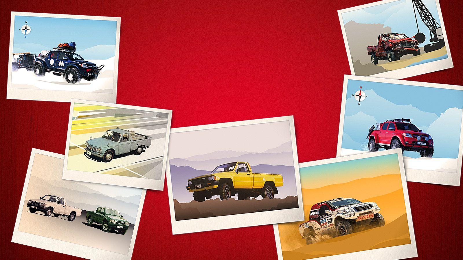 aaaad3d183 Príbeh modelu Toyota Hilux - spoznajte legendu