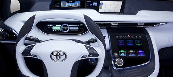 Toyota konsept araba modelleri toyota for Interieur toyota chr